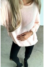 Fanny Knit - Light Rose