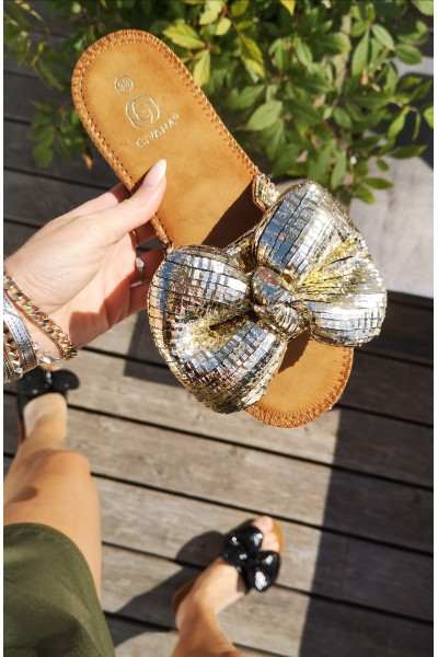 Alina Beauty Sandals - Gold