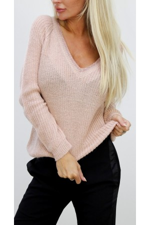 Luna Knit - Light Rose