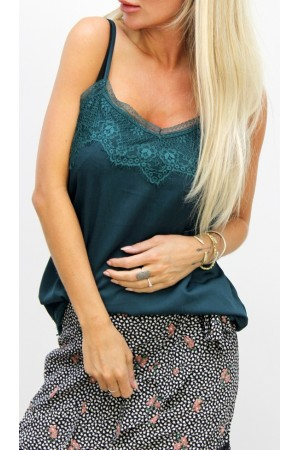 Cherri Lace Top - Green