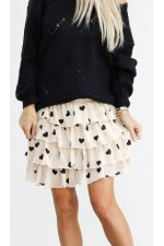 My Heart Skirt - Creme