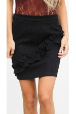 Alpa Shine Skirt - Black