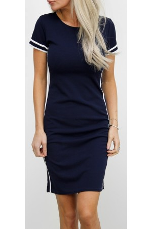 Leslie Dress - Marine