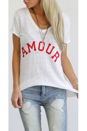 Amour Shirt - White