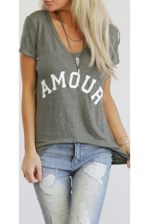 Amour Shirt - Kaki