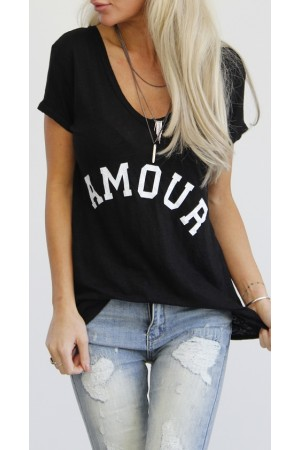 Amour Shirt - Black