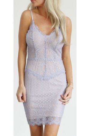 Lucy Lace Dress - Light