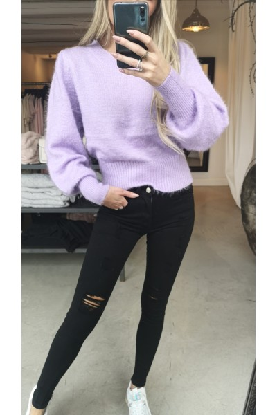 Michelle Beauty Knit - Light Purple