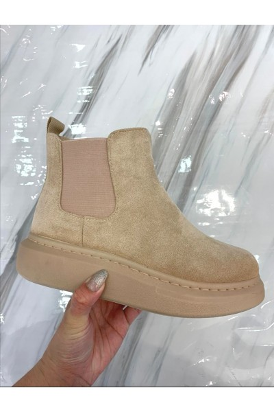 Coco Soft Boots - Beige