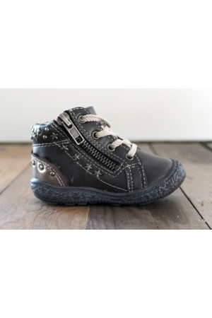 Alma Boots - Black/Grey