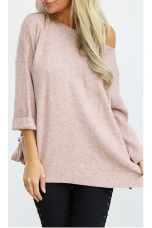 Lucia Knit - Rose