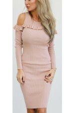 Lisea Soft Dress - Rose