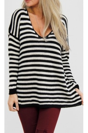Billy Stripe Knit