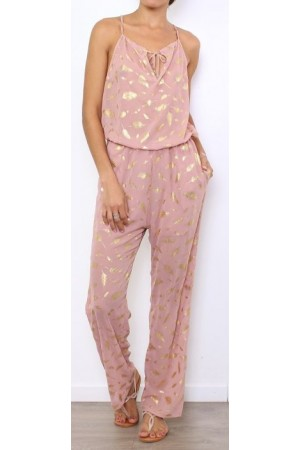 Marvi Beauty Jumpsuit - Old Rose