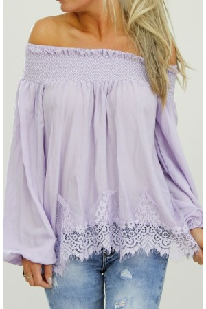 Camillie Shirt - Light Purple