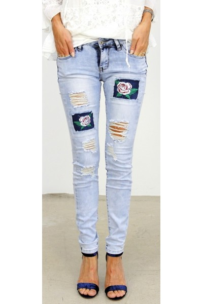 Flower  Cool Jeans