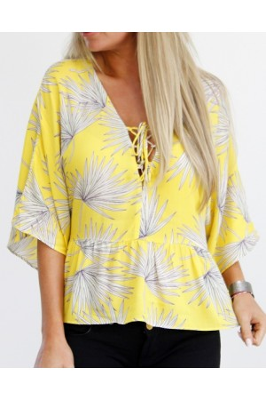 Sima Shirt - Yellow
