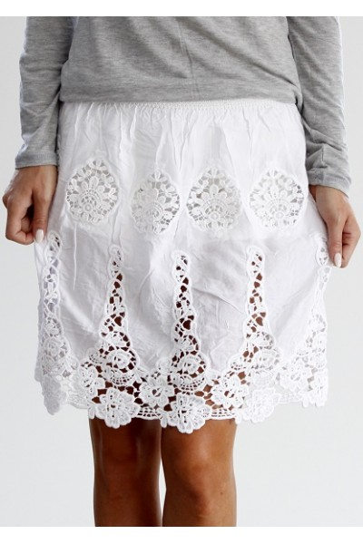 Pilo Skirt - White
