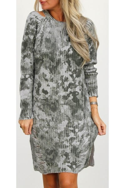 Wiga Dress - Grey