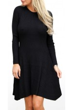 Metia Knit Dress - Black