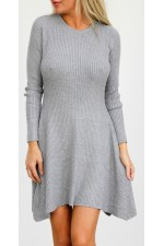 Metia Knit Dress - Grey