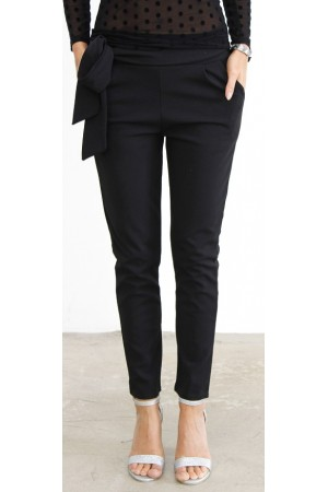 Miri Soft Pants - Black