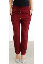 Mimi Pants - Bordeaux