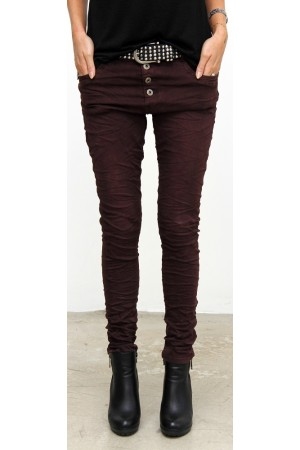 Lateef Pants - Dark Bordeaux