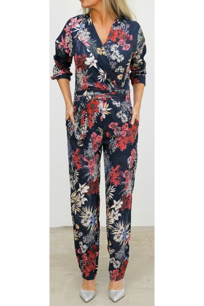 Miona Flower Jumpsuit