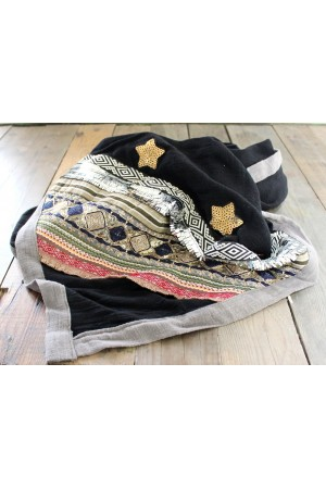 Kissie Beauty Scarf - Black