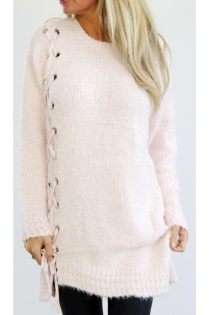 Sanela Knit - Light Rose