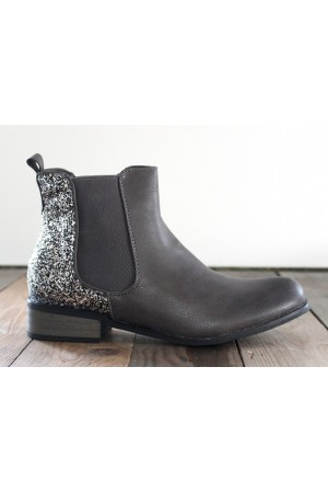 Willo Glimmer Boots - Grey