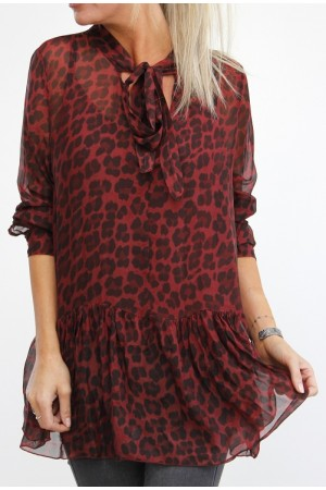 Mashi Leo Shirt - Bordeaux