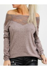 Virma Lace Knit - Mud