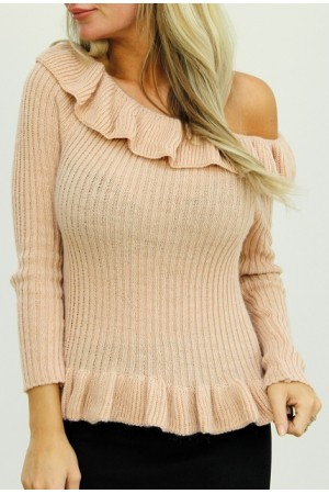 Frilla Knit - Rose