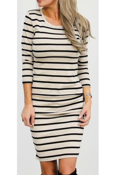 Wig Stripe Dress - Light
