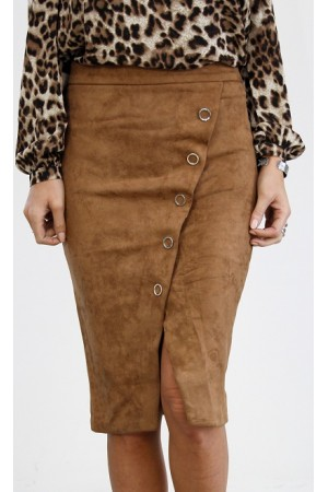 Adea Soft Skirt - Camel