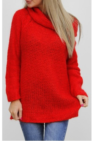 Libi Knit - Red