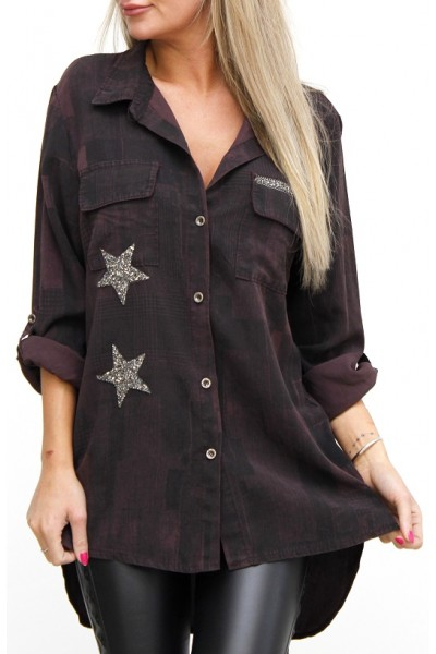 Pajko Star Shirt - Bordeaux