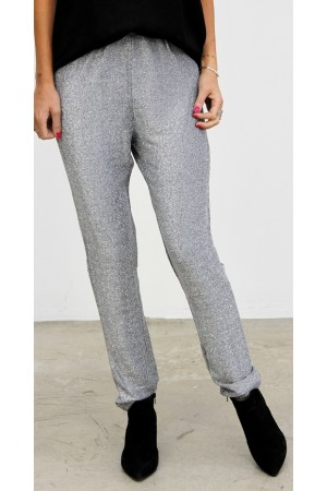 Wirna Glimmer Pants - Silver