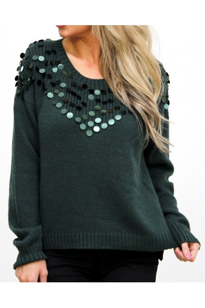 Filo Knit - Green