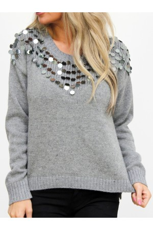 Filo Knit - Grey