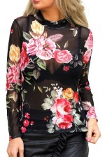 Monic Flower Shirt