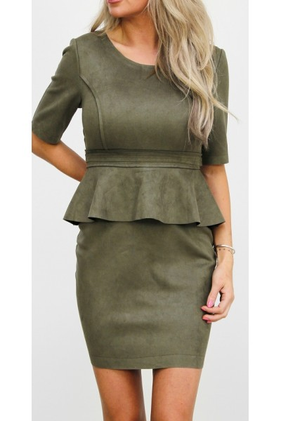 Myra Dress - Khaki