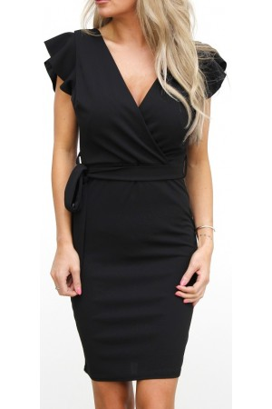 Siff Soft Dress - Black