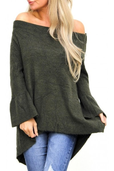Belle Soft Knit - Khaki