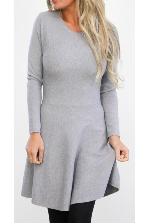 Wiledi Dress - Grey