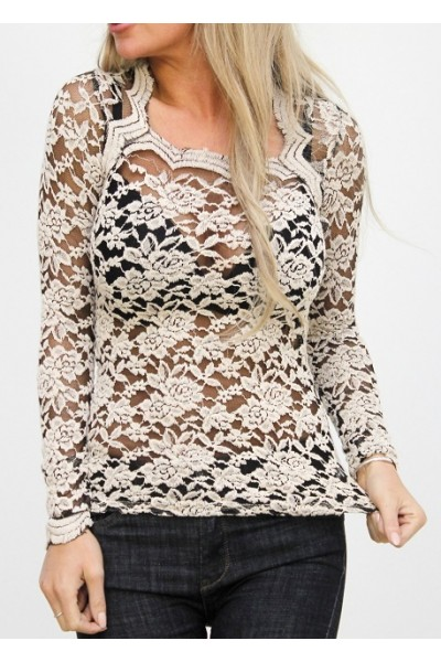 Thea Lace Shirt