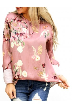 Silky Shirt - Rose
