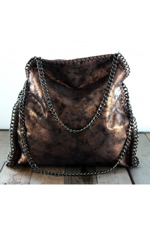 Zabel Bag - Bronze